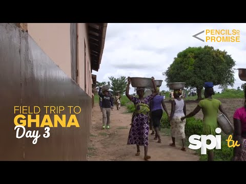 Day 3 in Ghana, Africa - Pencils of Promise Construction Site Visit - SPI TV Ep. 21