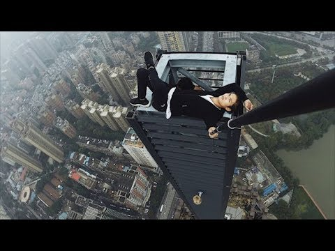 Chinese Daredevil Dies During Skyscraper Stunt | What's Trending Now!