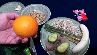 Новогодний стол 2019.Вкусный диетический салат Хрюши