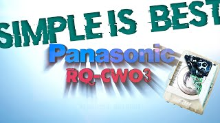 Panasonic RQ-CW03 Replace Belt…