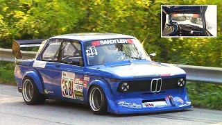 9.000rpm Bmw 2002 Tii || Full Onboard On The Limit!! - 230hp/830kg Berg-Cup Monster