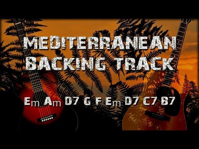 Mediterranean Sundance Rio Ancho Backing Track for improvisation