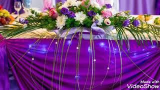 Украшение зала на свадьбу.Лучшая подборка