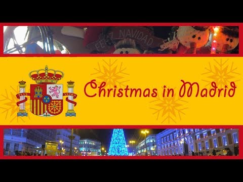 Christmas in Spain - Madrid 2017 | Inspired by travel