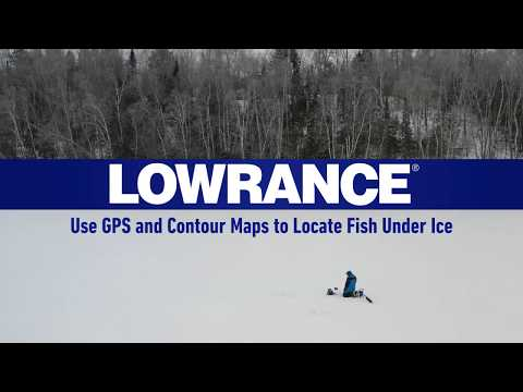 Finding Fish With GPS & Contour Lines - Ice Fishing Tips | Lowrance