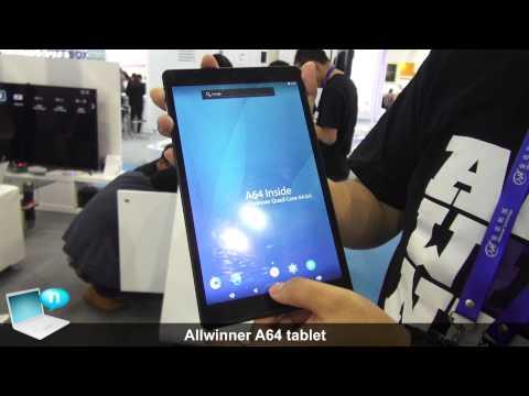 Allwinner A64 tablet
