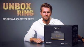 KOLONĖLĖ!   MARSHALL Stanmore Voice   Unbox Ring apžvalga