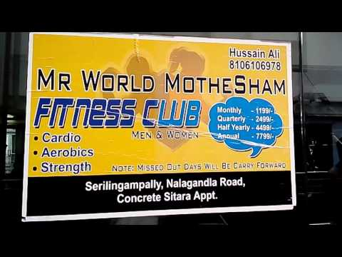 Mr. World Mohtesham Fitness Club in Lingampally, Hyderabad | 360° View | Yellowpages.in