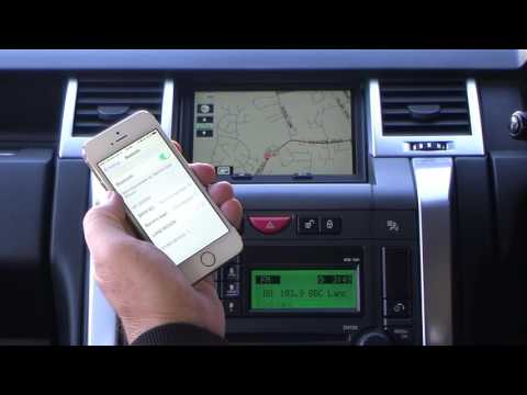 Pairing an iPhone to the Bluetooth system in an 2007 56 LAND ROVER RANGE ROVER SPORT 2 7 TDV6 HSE Au