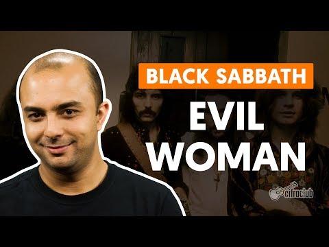 EVIL WOMAN - Black Sabbath (aula de bateria)