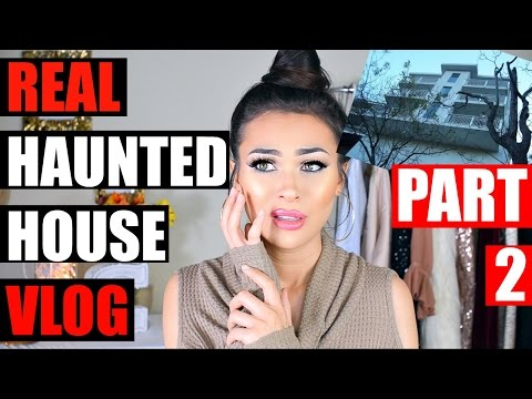 REAL HAUNTED HOUSE IN BEVERLY HILLS TOUR + VLOG  (PART 2)