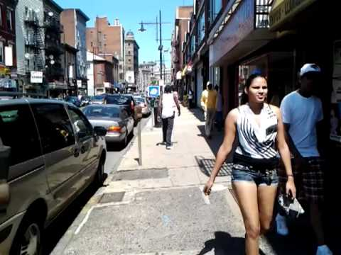 Paterson nj walking downtown