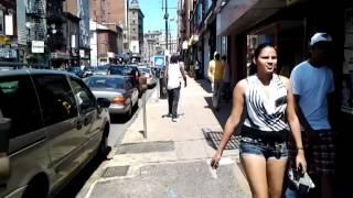 Paterson nj walking downtown