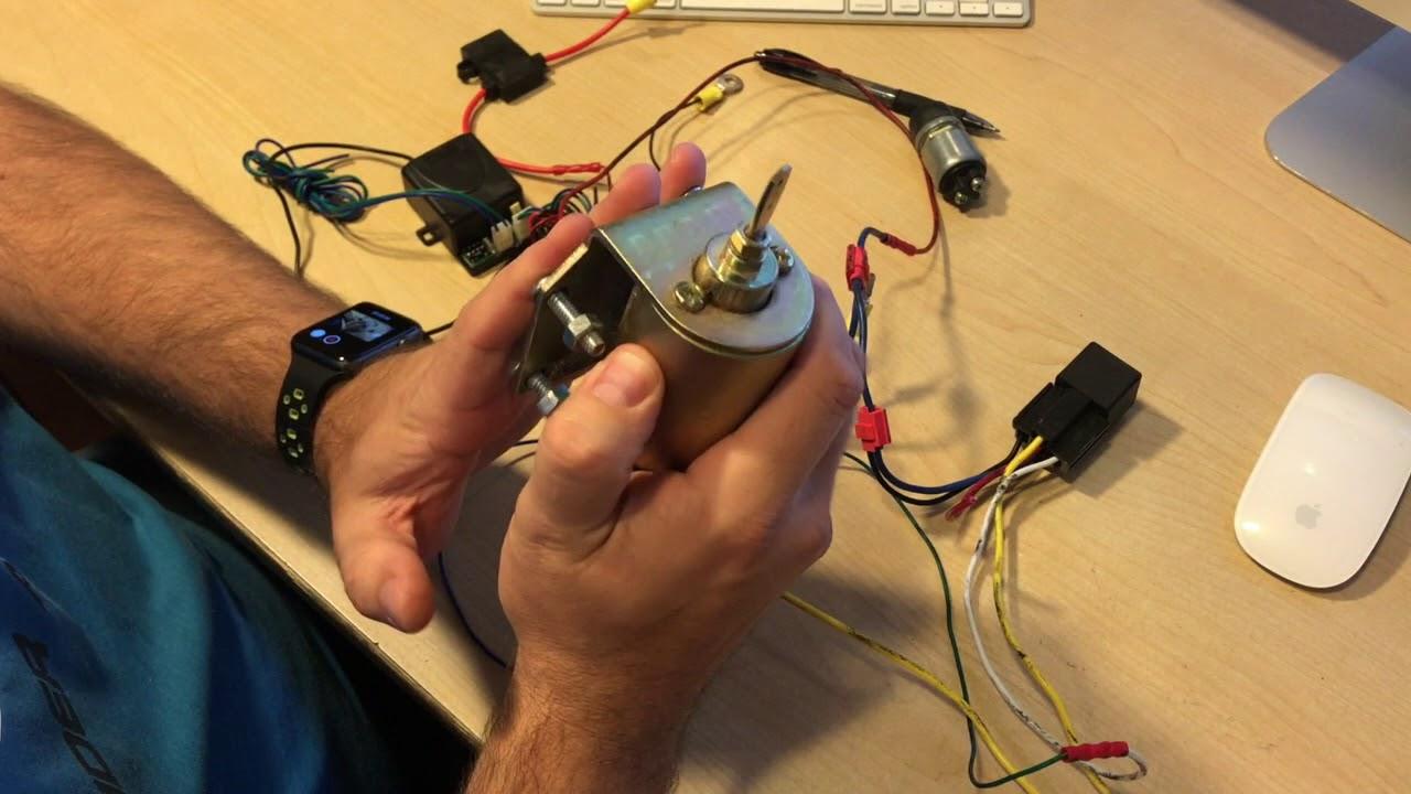 Wiring the Enzor EZ-400 Remote Door Popper Kit - YouTubeYouTube