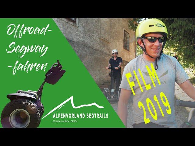 FILM 2019 von Alpenvorland Segtrails - Segway Touren in den Bergen