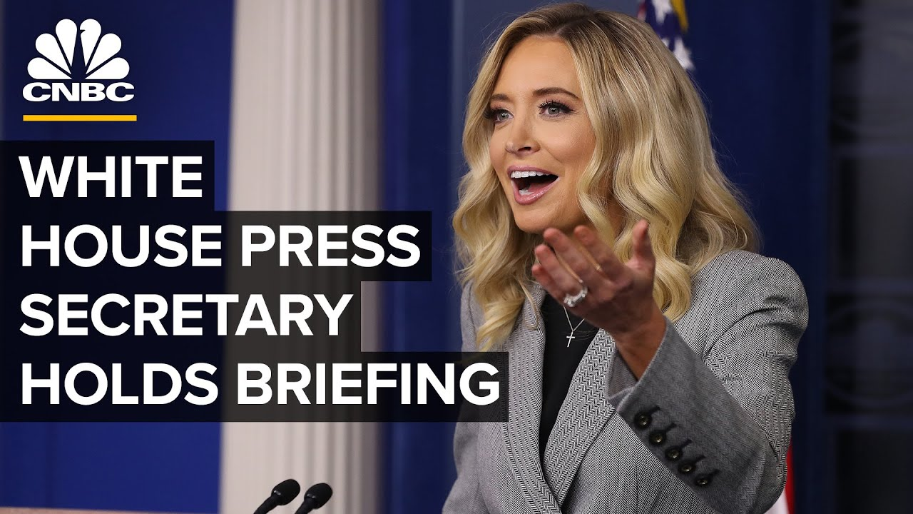White House Press Secretary Kayleigh Mcenany Holds Briefing 8 19 2020 Youtube
