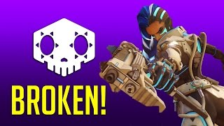 Overwatch: Sombra Is Literally Broken [Live Commentary]