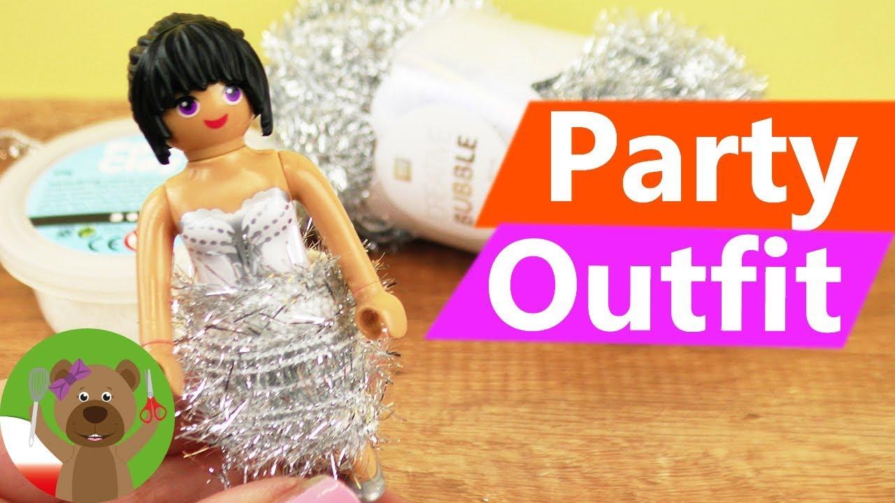 DIY Playmobil | nowy strój na imprezę | Party Outfit | Playmobil Fashion
