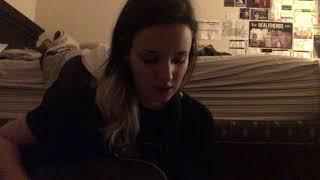 crying girl sings a mac miller song