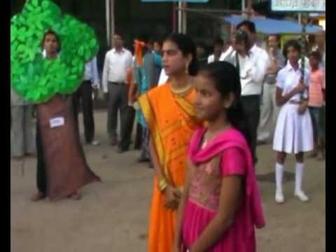 Nukkad Natak(Save Tree Save Earth).avi: Nukad Natak by Aditya Birla Sr.Secondary School ( Birla gram NAGDA M.P.)  SAVE TREE SAVE EARTH