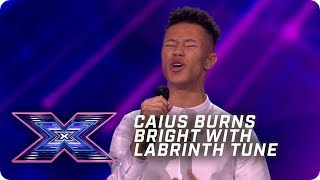 Caius Duncombe burns BRIGHT with Labrinth ballad | X Factor: The Band | Arena Auditions