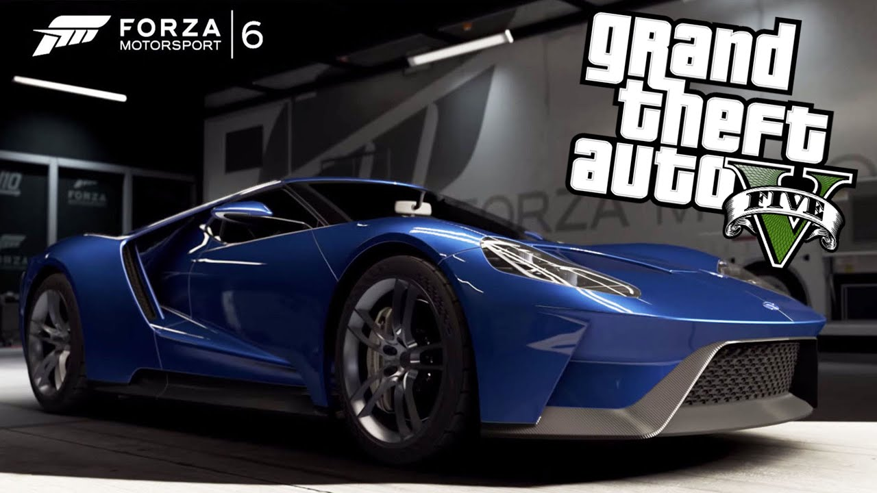 Gta  Next Gen Custom Car Build Forza Motorsports  Ford Gt Vapid Bullet Youtube