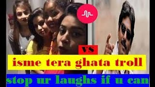 Stop your laugh's if you can | tera ghata troll/compilation age restriction | showtym...