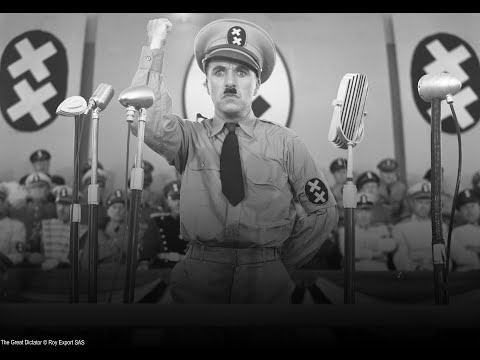 Charlie Chaplin - Adenoid Hynkel Speech - The Great Dictator (1940)