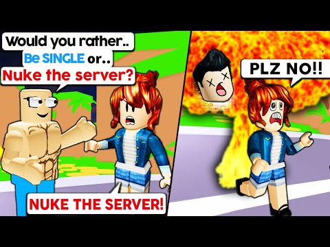 Roblox Admin WOULD YOU RATHER...