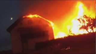 Požar v Škofji Loki, 24. 6. 2012