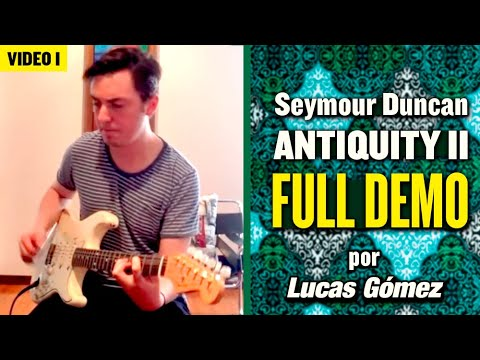 Seymour duncan Antiquity ii surf full demo