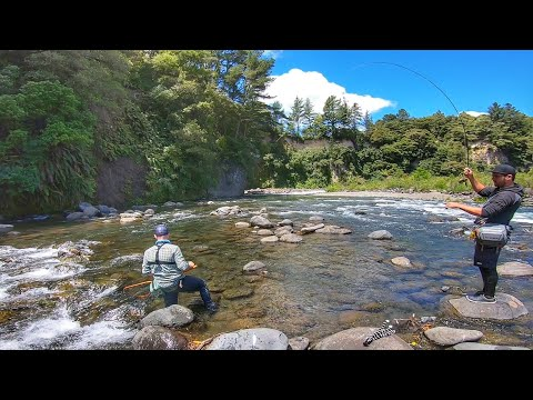 Tongariro River Rafting + Fly Fishing [New Zealand]