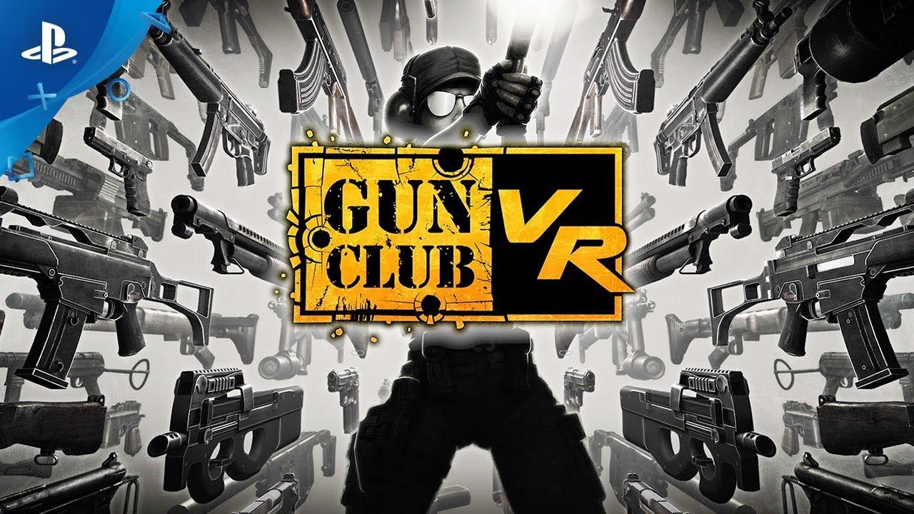 Gun Club Vr Launch Trailer Ps Vr Youtube