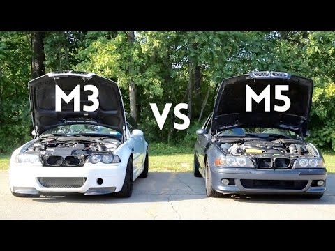supercharged e46 m3 vs bmw e39 m5 head to head youtube. Black Bedroom Furniture Sets. Home Design Ideas