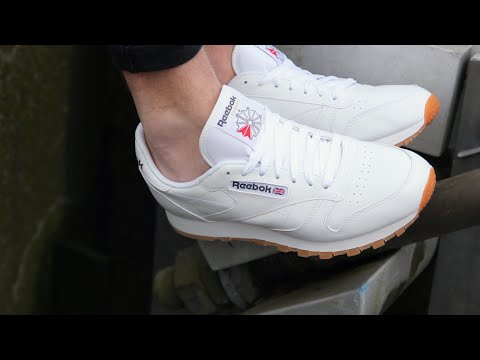 be069b7f3 Reebok Classic - Leather - White - YouTube