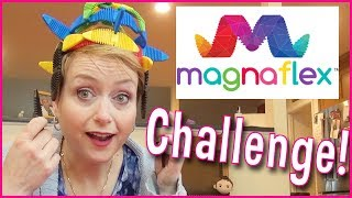 How To DIY Silly Crowns, and Flowers Magnaflex Creativity Challenge