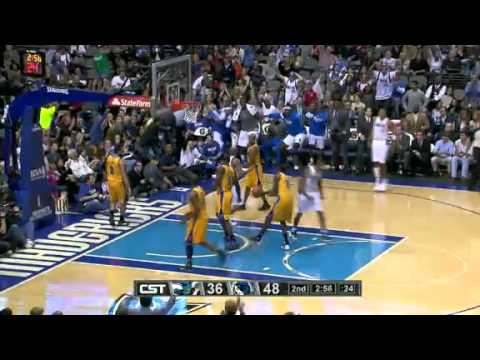 1-7-12 Vince Carter dunks on Emeka Okafor