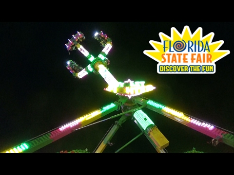 Crazy Fair Rides, Wild Carnival Eats & More at 2017 Florida