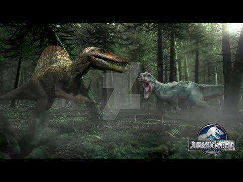 Spinosaurus And Indominus  Get Out A Three Days Grace
