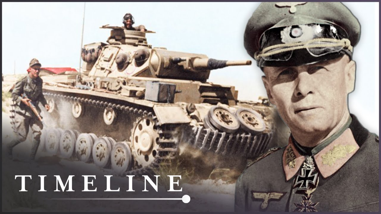 The US Tank War With Rommel's Afrika Corps | Greatest Tank Battles | Timeline