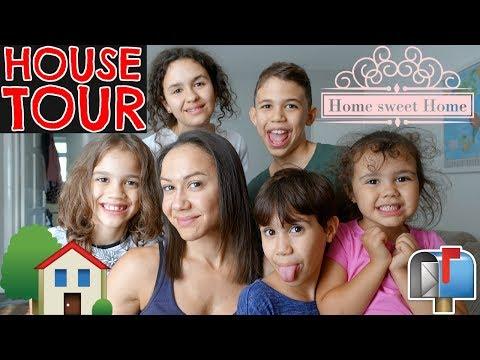 HOUSE TOUR!!!🏠 I SLEEP ON THE SOFA?!😳 #32 VLOG
