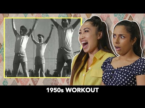We Tried 1950s Workouts