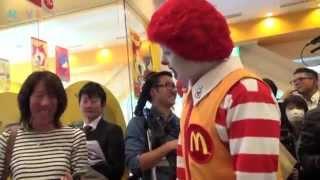 マックと妖怪ウォッチのコラボイベントにドナルドとジバニャンが登壇 thumbnail