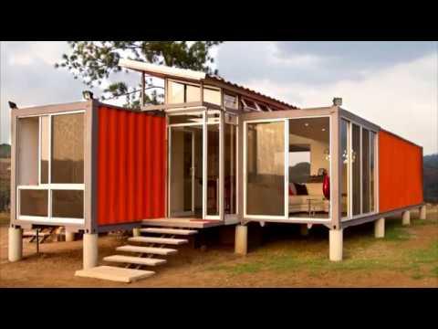 Die schönsten Container Häuser der Welt - YouTube