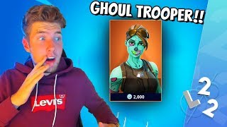MANAGES THE FIRST STEP TO GET FREE GHOUL TROOPER! * FORTNITE IN ENGLISH *