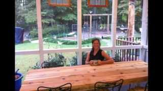 Cedar Farm Table-smith Family Project 2014
