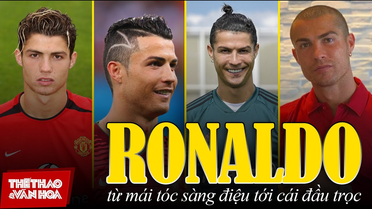 Download [THỐNG KÊ ĐỘC - LẠ] Cristiano Ronaldo - Từ mái tóc sành điệu, tới cái đầu trọc