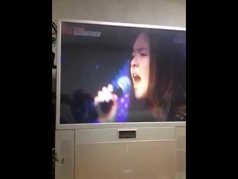 12-year-old Korean-Australian Girl with Incredible Singing!!