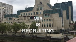 MI6 is Recruiting - New Campaign Starts 24 May 2018