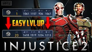 Injustice 2: How To Level Up Any Character Without Playing!!